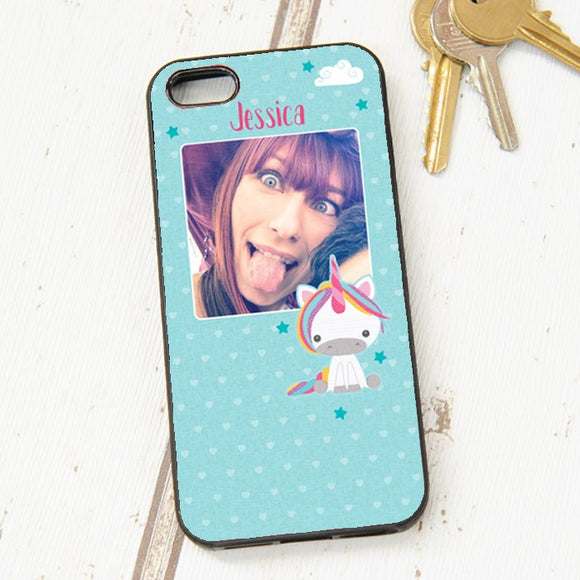Dream Believe Unicorn - Iphone 5 Case with Photo