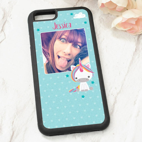 Dream Believe Unicorn - Iphone 6 Case with Photo