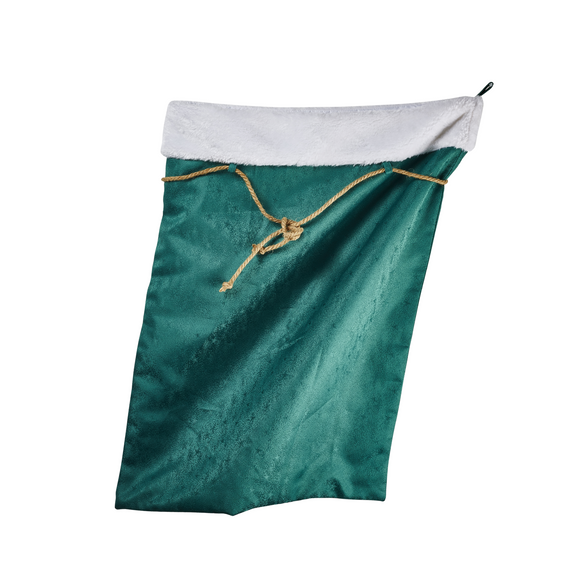 Christmas - Green Present Sack