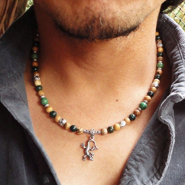 Beaded Necklaces for Men are creating an Impact!