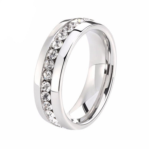 Diamond Full Rhinestone Finger Rings for Women