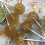 Jordy's 10 mg Hemp Coconut Lime Lollipop - Virgo Moon Botanicals