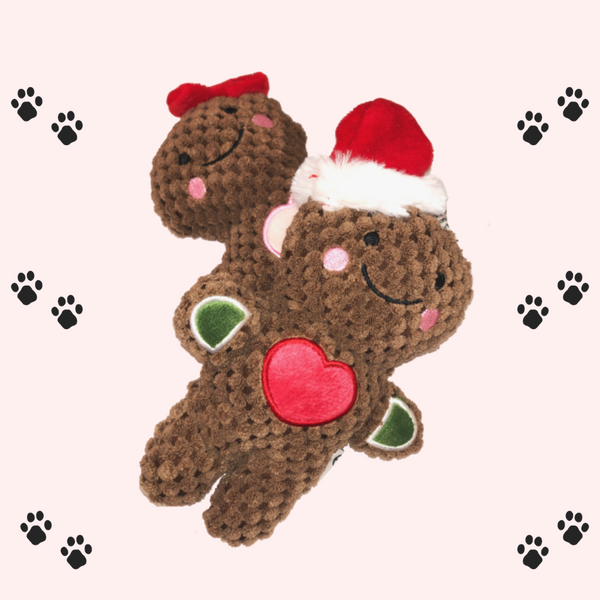 Gingerbread plush for dogs-Petsochic