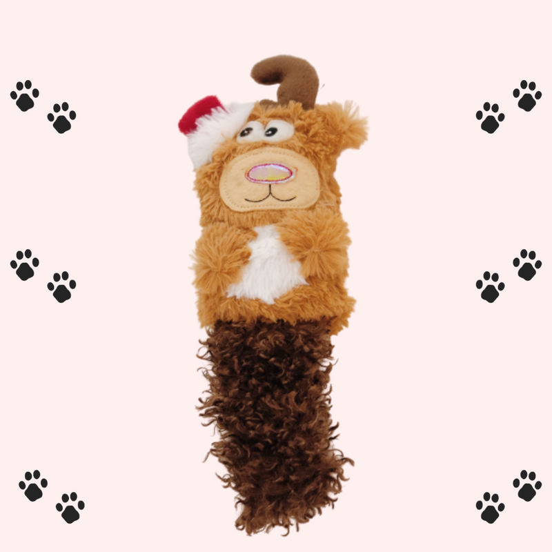Reindeer plush toy for cats-Petsochic