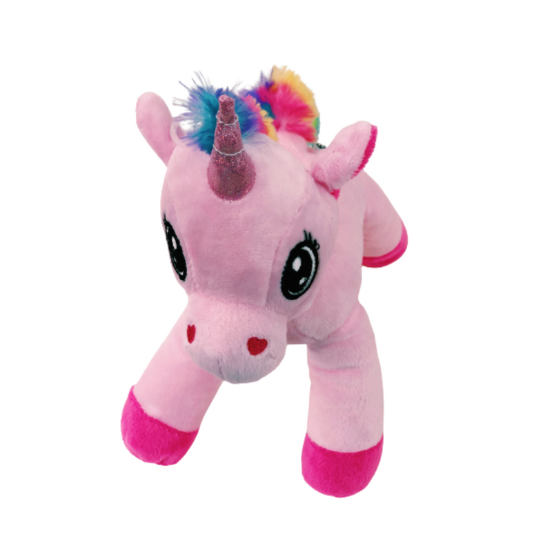 Pink unicorn plush-Petsochic