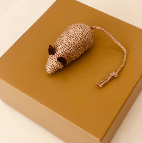 Cat toy - Brown Mouse-Petsochic