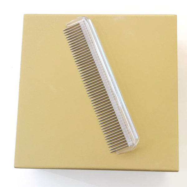 Grooming comb with rotative prongs-Petsochic