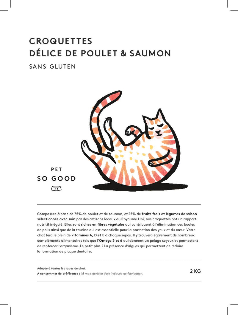 Cat kibble - chicken and salmon-Petsochic