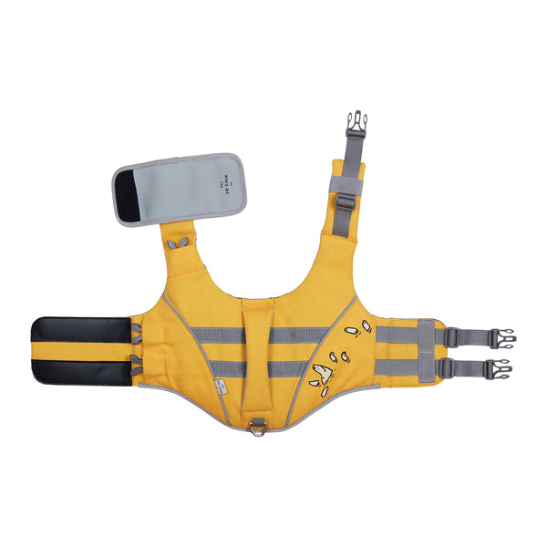 "Life Jacket for dogs ""Lifeguard"" - Yellow-Petsochic"