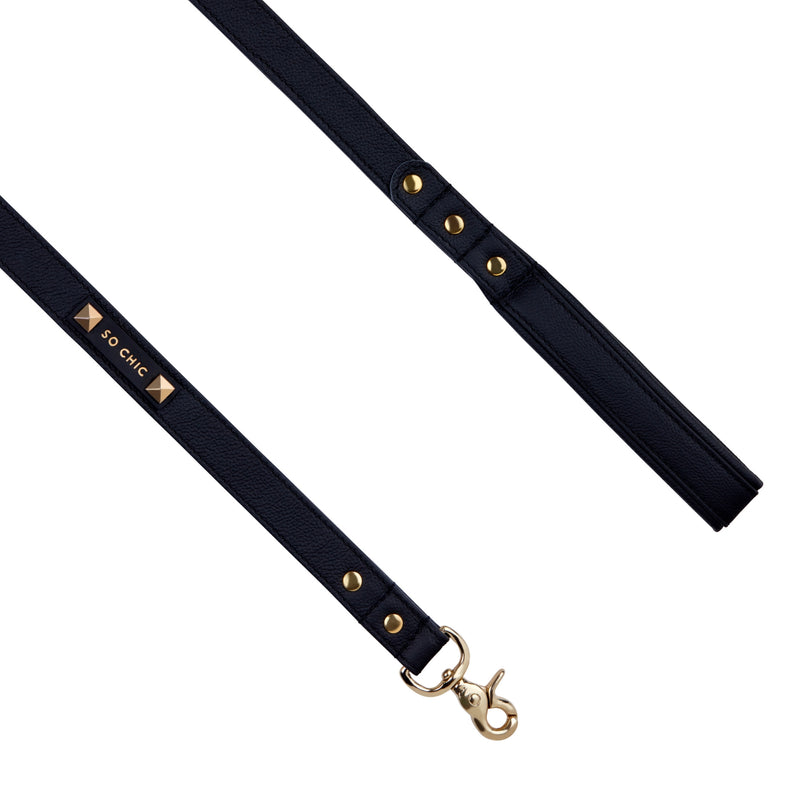 Dog leash - Mystery Black-Petsochic