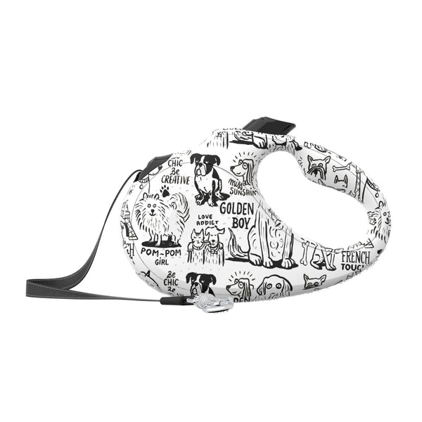 Petsochic Retractable Leash - Bon Voyage-Petsochic