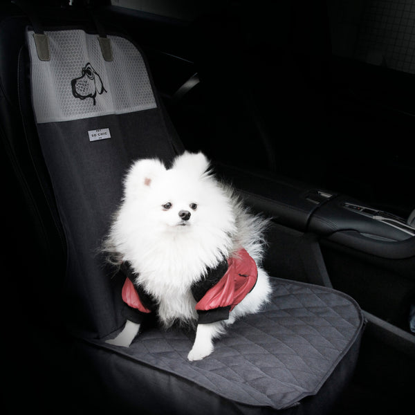 "Front seat cover - ""On the road again""-Petsochic"