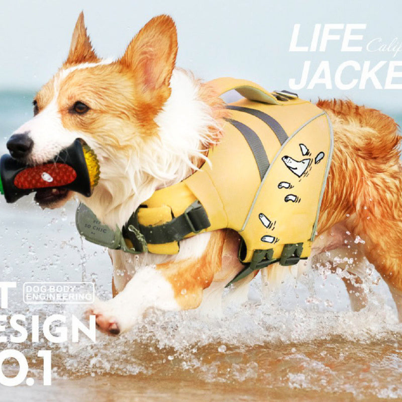 "Life Jacket for dogs - ""Lifeguard""-Petsochic"