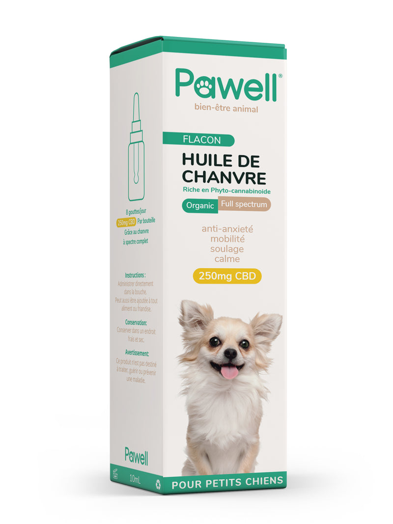 CBD Oil for dogs | 2,5% - Small dog-Petsochic