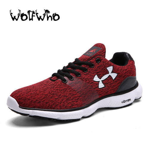 New Plus Size 45 Breath Men Casual Light Jogging UA Shoes Fly Weave Mens Trainers Walking Sport Gym Shoes Men Zapatillas Hombre