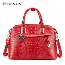 DUSUN Luxury Handbags Women Bags Designer Famous Brands Messenger Bag Crocodile Women Bag Handbags Bolsa Feminina Shoulder Bag