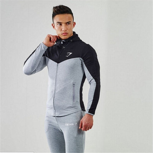 2016 Gyms Hoodies camisetas masculina hombre coat Bodybuilding and fitness hoodies Sweatshirts Muscle men's sportswear