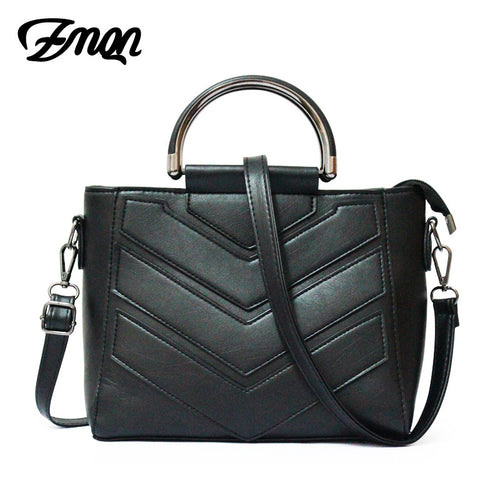 ZMQN Famous Brand Luxury Handbags Women Bag Designer 2017 Small Women Messenger Bag Ladies Hand Bag PU Leather Handbag Black 990