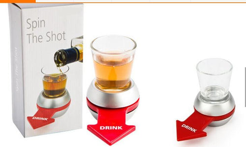 Spin The Shot Bar Entertainment Funny Party Games Toys Spin The Shot Glass Roulette Drinking Game Adult Party Novelty Toy Gift