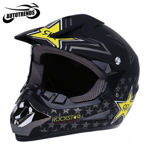 Motorcycle Helmets Motocross Dirt Bike Racing Off Road Helmet Breathable Motorbike Mask with Adjustable Lock Buckle S M L XL
