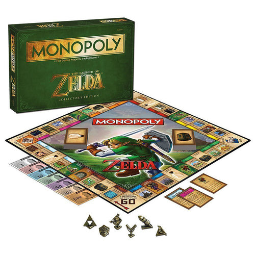 1 Set Anime The Legend of Zelda Came Collection Card  Novelty Funny Play Monopoly Game Gift Toys For Children Adults