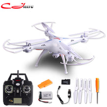 Free shipping 100% authentic new Syma X5SC RC Drone 2.4 G 6 Axis GYRO RC Quadcopter RTF RC com HD 2MP camera Syma X5C atualizado