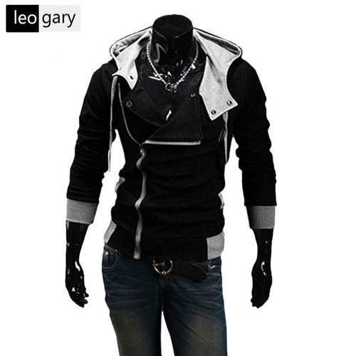 Winter&Autumn Fashion Brand Hoodies Men Casual Sportswear Male Hoody Zipper Long Sleeve Sweatshirt Jacket Plus Size 5XL