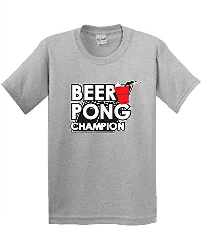 Custom Shirt Printing Short Sleeve Printed Crew Neck Mens Beer Pong Games Sportser Drinking College Adult Novelty Funny Tee