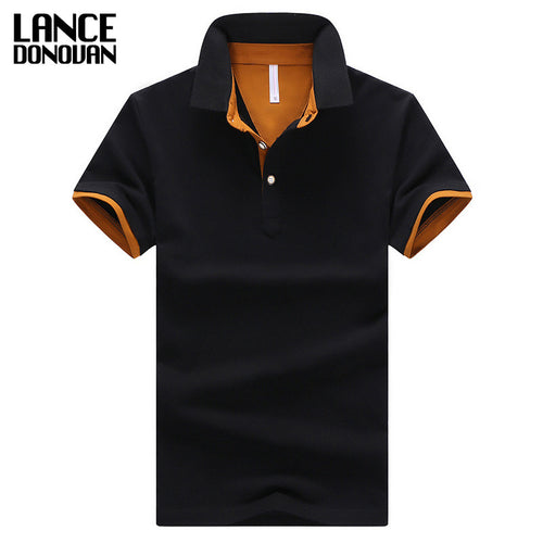 2016 Summer Short Sleeve Polo Shirt Men M-4XL ASIAN SIZE 11 Solid color Choose