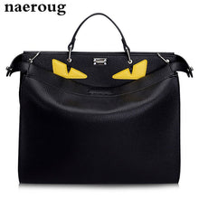New Luxury Handbags Women Bags Designer Large Monster Bags Brand Men Women Genuine Leather Totes Famous Men's Laptop Bags 3 Size
