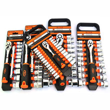 "High Quality 12PCS 19pcs Socket Set  1/2""1/4""3/8"" Car Repair Tool Ratchet Torque Wrench Combo Tools Kit Auto Repairing"