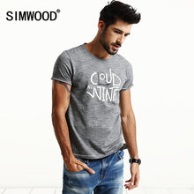 SIMWOOD New Fashion T Shirts Men 2017  Spring Summer Casual 100% Pure Cotton Slim Fit Plus Size TD1178