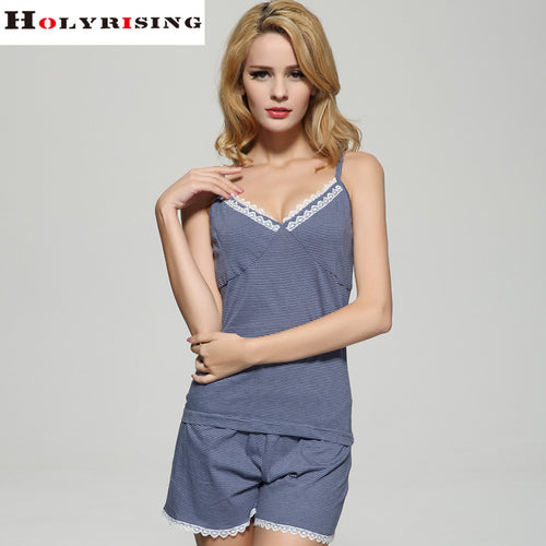 2017 girls Sleepwears women cotton pajamas V-Neck Sleeveless Pajamas Nightgowns cute pajamas sleepwear  Casual Nightwear