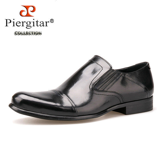 High quality Round Toe Dress Shoes business and office Loafer For Men Genuine Leather Slip On Derby shoe Euro Size 39-45