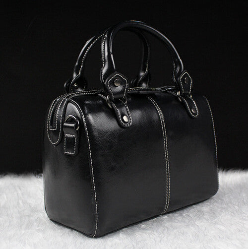 Real Cow Leather Ladies Hand Bags Women Genuine Leather Handbag Shoulder Bag Pillow Hign Quality Designer Luxury Brand Bag