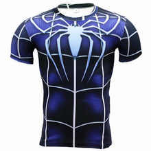 New Fitness Compression Shirt Men Anime Superhero Punisher Skull Batman Superman 3D T Shirt Bodybuilding Crossfit tshirt