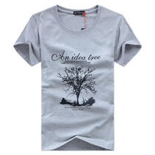 Discount 2016 new fashion summer t shirt men o-neck cotton comfortable t-shirt Casual tshirt homme Short sleeve Printing M-5XL
