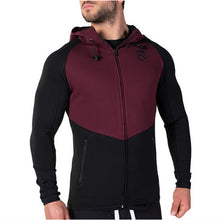 Brand men's RISE 2016 new Men Hoodies Gymshark Hoodie Zipper Casual Sweatshirt Muscle Mens Slim Fit  Jacket Fitness sportswear