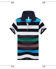 Hot Sale 2016 Summer New Arrival Men Polo Shirt Fashion Good Quality Classic Striped Homme Camisa Short Sleeves