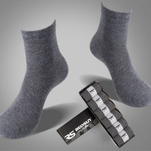 [AETRENDS] 2016 New Autumn Winter Cotton Socks Men Solid Colors Business Tube Socks Include Gift Box 6 Pairs/lot Z-2685