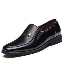 new dress slippers men slip on oxfords leather shoes 2017 fashion office formal flats mocassins men's formal shoes
