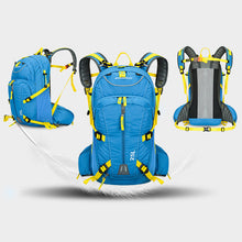ANMEILU 25L Climbing Bag Rucksack Waterproof Outdoor Cycling Camping Sports Backpack Mens Travel Bags + Water Bag And Rain Cover