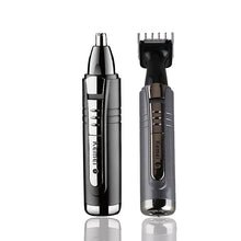 Kemei 6511 Electric Professional 2 In 1 Nose Hairs Trimmer Blade Beard Shaver Razor Men Face Clean Groomer Cutter Care Trimer