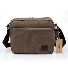High Quality Men Canvas Bag Casual Travel Men's Crossbody Bag Luxury Men Messenger Bags