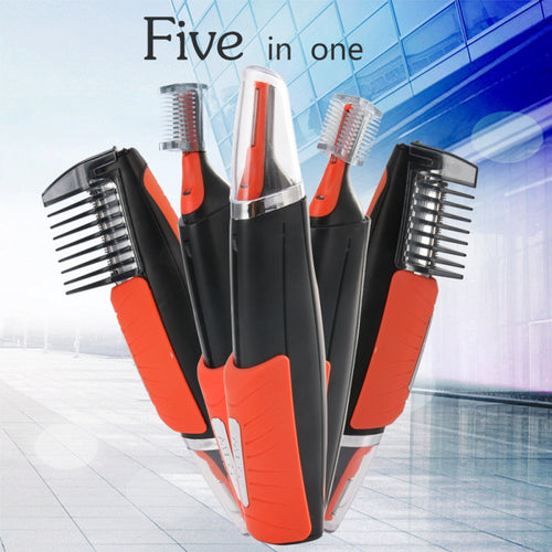 5-in-1 Electric Hair Trimmer For Men Beard Hair Shaver Clipper Cutter Hair Cutting Machine Face Care Device Razor Trimmer