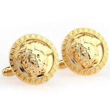 cufflinks for mens gold and black high quality tie clips shirt cuff links luxury brand