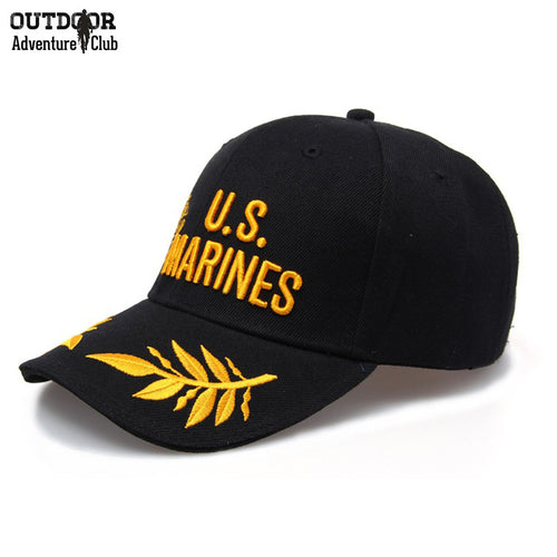 US Marines Militar Style Army Baseball Cap Men Women Casual Tactical Caps Fashion Adjustable Sports Outdoor Snapback Hat Caps