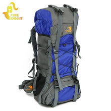60L Professional Men Women Outdoor Sports Backpack Waterproof Nylon Mountaineering Bags Hiking Camping Climbing Travel Bags