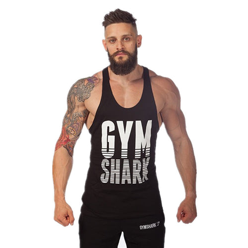 Bodybuilding Men gyms tank top gymshark Wukong Cotton men tank tops gold gyms poewrhouse Sleeveless Shirts men gyms clothing