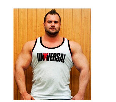 2015 New gyms vest Cotton Tank Top Men gyms Bodybuilding and Fitness Clothing Muscle Vest Tops Sleeveless Shirt M-2XL